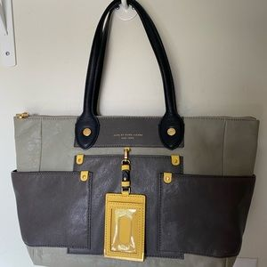 Marc by Marc Jacobs Tote style purse, taupe.